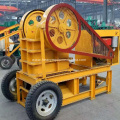 Diesel Engine Stone Crushing Jaw Crusher Machine