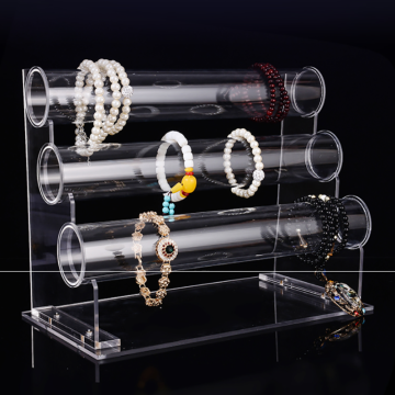 Customized clear acrylic display stand rack for watch