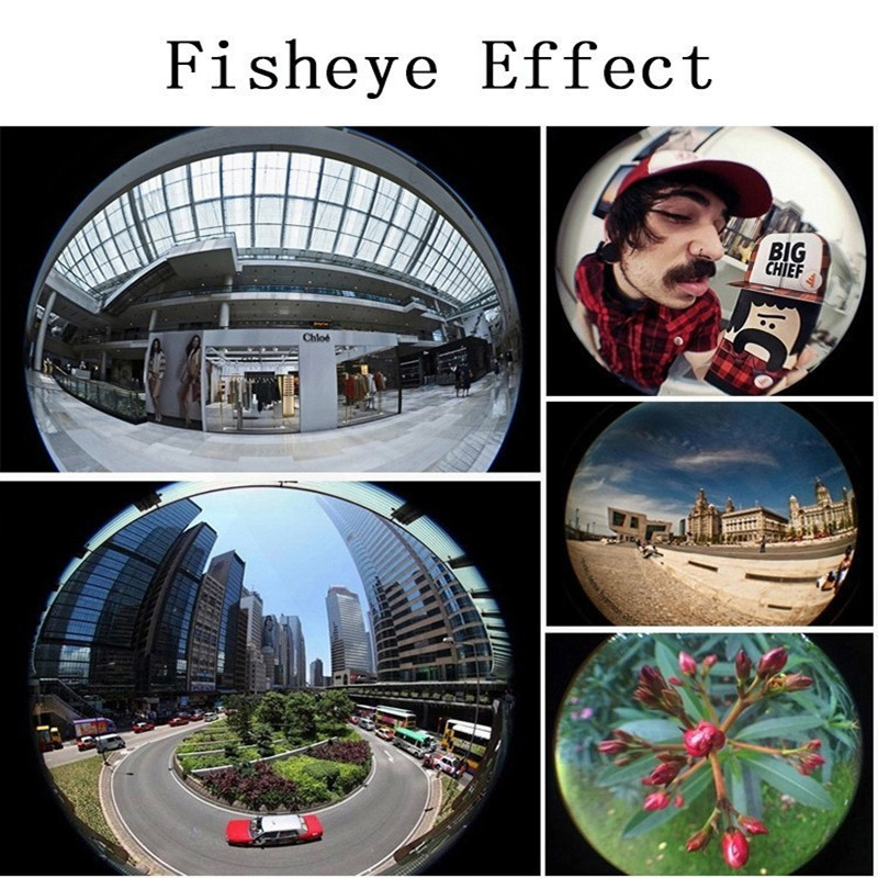 Macro Fisheye Wide Angle Lens Camera Kits With Clip For iPhone Xiaomi Mobile Phones Camera Lenses Fish Eye Zoom Lens Macro lents
