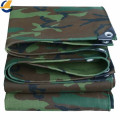 Pvc Coated Camouflage Tarpaulin Covers With Eyelets