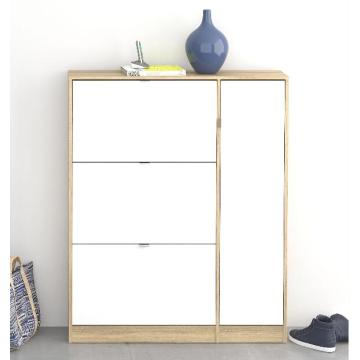 Chrome Shoe Rack Online Shopping with Drawers