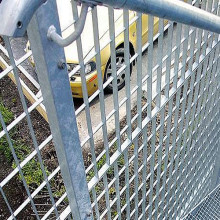 Steel Grid Plug Fences