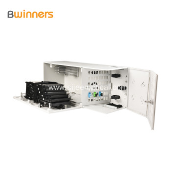 Multi-Operator Fiber Optic Connection Box 48 Cores 2 Door Ip30 Protection