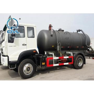 5-6CBM LHD 4X2 Sewage Suction Truck