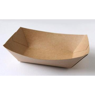 Take away  fast food boat tray