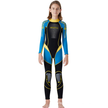 Girls Boys One Piece Water Sports Wetsuit