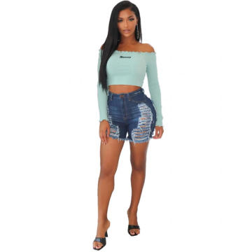 women's denim jean shorts