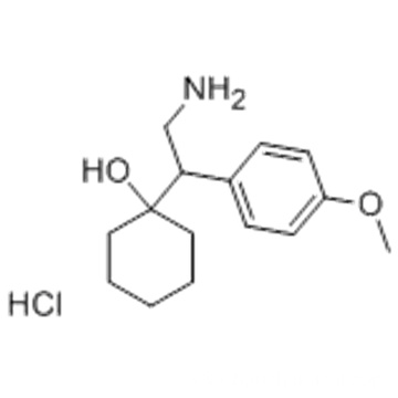 1-[2-Amino-1-(4-methoxyphenyl)-ethyl]-cyclohexanol hydrochloride CAS 130198-05-9