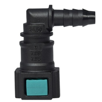 Conductive Quick Connector 7.89/7.95(5/16)-ID6-90° SAE