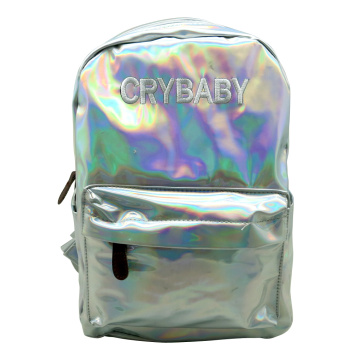 SILVER LASER BACKPACK -0