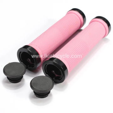 Pink Color Handlebar Grips for Bike