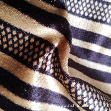 100% Polyester Printed African Knitted Fabric