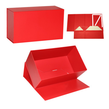 Beauty Cosmetic Collapsible Rigid Paper Boxes