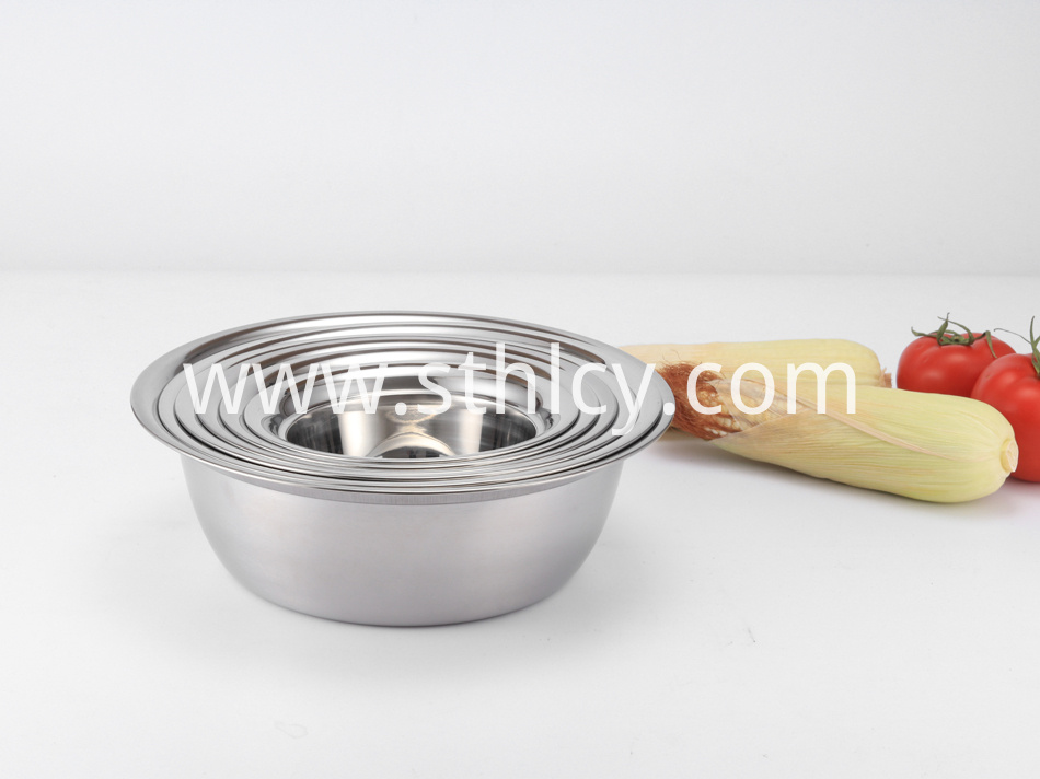 stainless steel big bowl