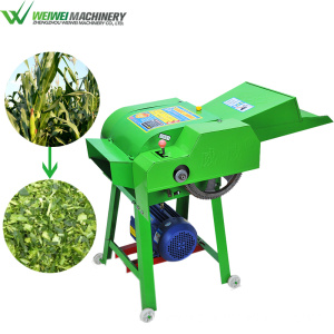 Weiwei feed making homemade hay cutter