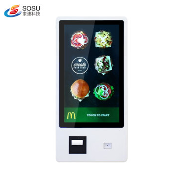 Fast Food Restaurant Payment Ordering Kiosk