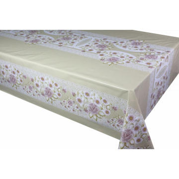 Elegant Tablecloth with Non woven backing Rectangular