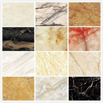 Pvc marble stone wall decorative/ Uv pvc wall panel
