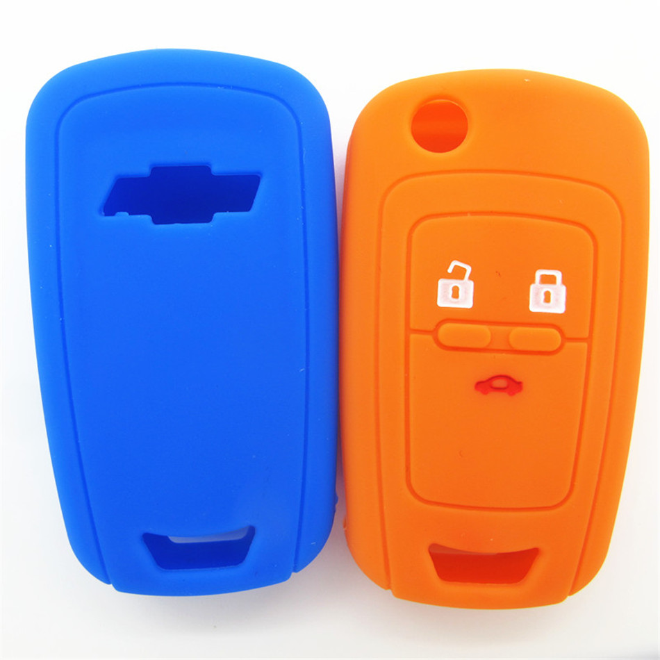 Chevrolet silicone car key cover
