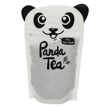 Recyclable Custom Shaped Stand Up Pouch for Tea