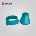 GP11F stone cone crusher wear parts bowl liner