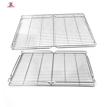 Stainless steel BBQ mesh cooling rack cake cooling