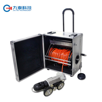 Electrical Barrow Pipe Inspection Robot