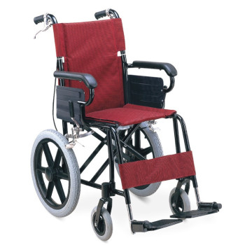 Lightweight Adjustable Folding Aluminum Wheelchair