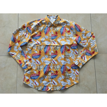 Cotton Printing Hawaii Shirt 133x72