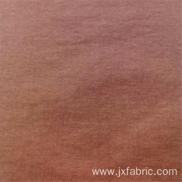 Pure Color Twill Woven Synthetic Fabrics For Garments