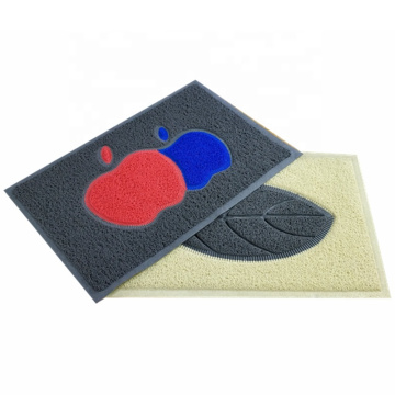 Hot selling joint leaf pattern coil mat