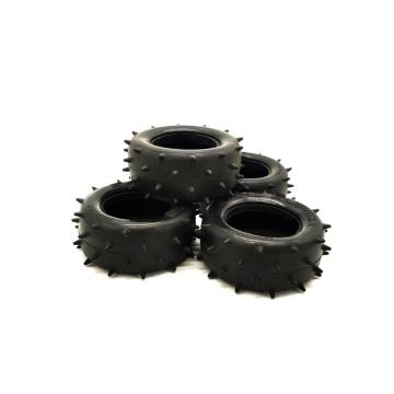 Oem Custom Molded  Silicone Rubber Toy Car Wheels