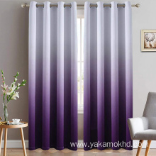 Purple Ombre Curtains for Bedroom