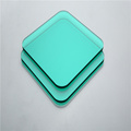5mm green glossy wall panel solid polycarbonate sheet