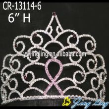 Wholesale 6 inch rhinestone rainbow crowns