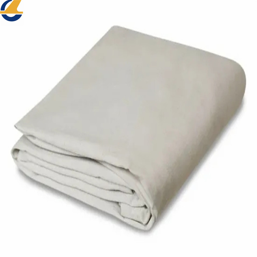 Durable breathable cotton tarpaulins