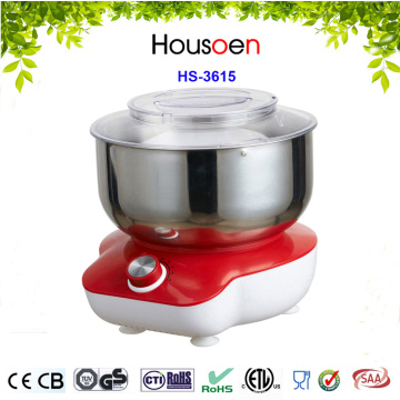 Open top food mixer and processor