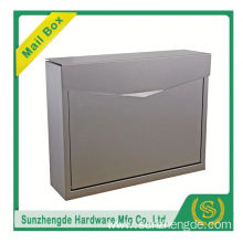 SMB-061SS Simple Shape Multifarious Style Handmade Decorative Metal Mailbox
