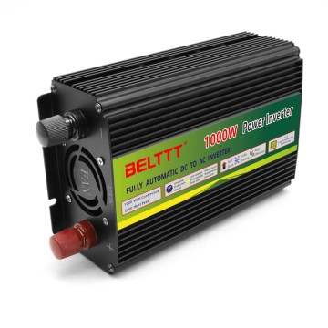 Metal-Build Black Color High Efficiency 1000W Inverter