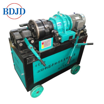 high quality steel bar threading machine