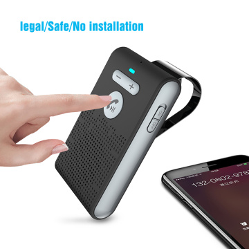 Siparnuo Bluetooth Aux Wireless Bluetooth Car Handsfree Speakerphone Manos Libres Speaker Bluetooth Car Kit with USB Charger