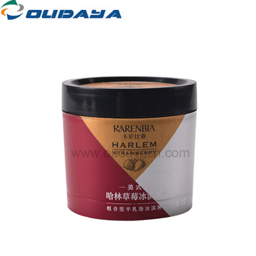 Disposable Food Grade yogurt PP plastic cup with lid