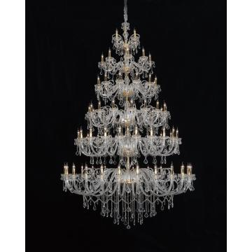 Large Luxury Hotel Lobby Project Gorgeous Crystal Chandelier