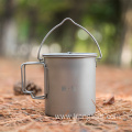 TITANIUM POT WITH BAIL HANDLE