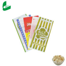 Kraft greaseproof paper microwave popcorn packaging