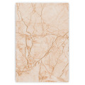 Flame fire resistant fiber cement marble texture wallboard