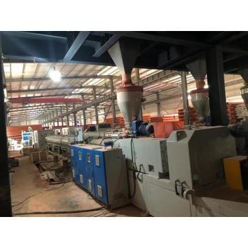 MPP Power cable sheathed pipe extrusion machine