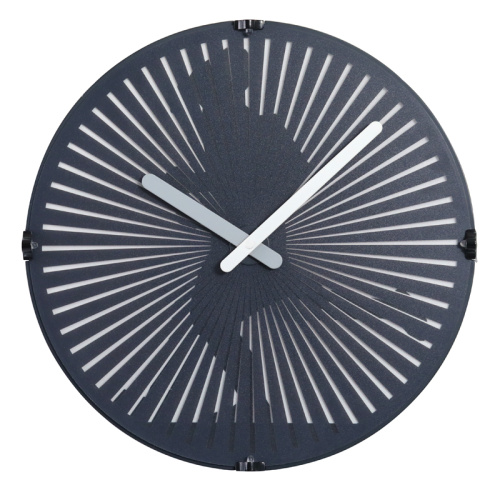 Running Man Wall Clock with LED Lights
