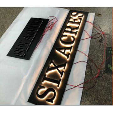 Backlit Channel Letters Signage Business Sign