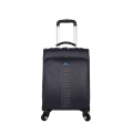 light weight 4 wheels pu trolley luggage